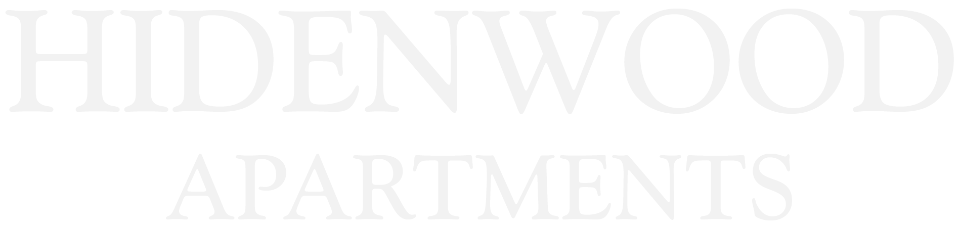 Hidenwood Apartments Logo